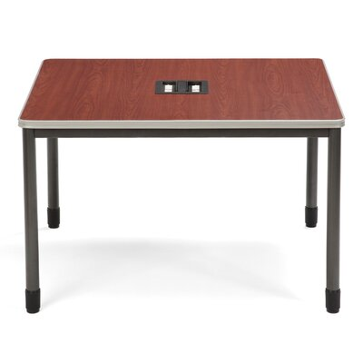 "47.25"" W Mesa Series Training Table Tabletop Finish: Cherry"