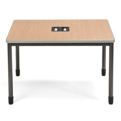 "47.25"" W Mesa Series Training Table Tabletop Finish: Maple"