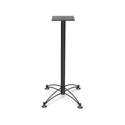 "Base for 36"" and 42"" Square and Round Caf Tables Base Finish: Black"