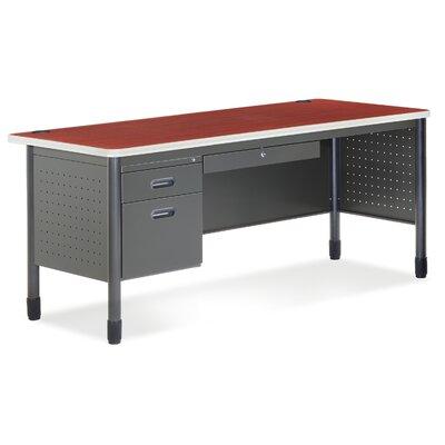 Mesa Series L-Shaped Executive Desk Orientation: No Return, Finish: Cherry