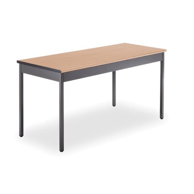 "60"" W Training Table Tabletop Finish: Maple"