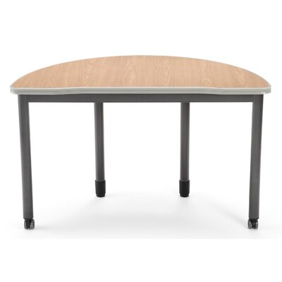 "47.25"" W Mesa Series Training Table with Wheels Tabletop Finish: Maple"
