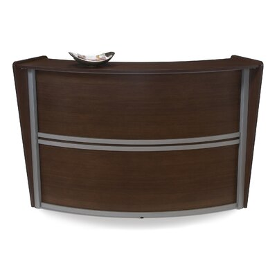 OFM Marque Series Single-Unit Curved Reception Station