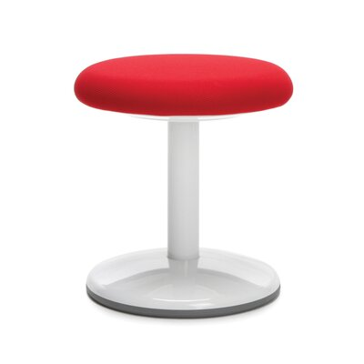 Orbit Lab Stool Upholstery: Red Static