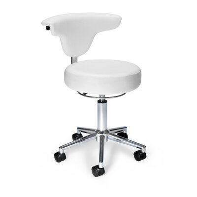 Anatomy Office Chair Upholstery: White