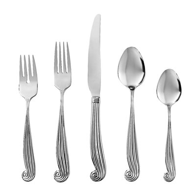 Ginkgo LaMer 5 Piece Flatware Set