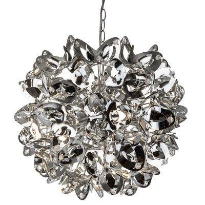 Nino Leuchten Design-Pendelleuchte 5-flammig Flora