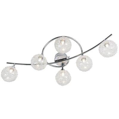 Nino Leuchten Volles Schienenbeleuchtungsset 6-flammig Spider