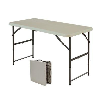 "Sudden Solutions 48"" Rectangular Folding Table"