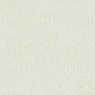 """York Wallcoverings Fresco 33' x 20.5"""" Damask 3D Embossed Wallpaper"""