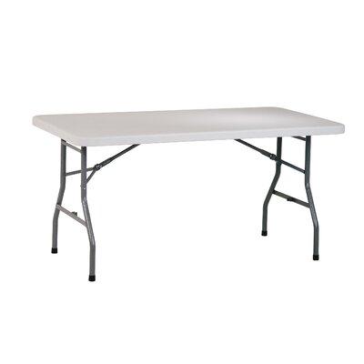 "Work Smart 60"" Rectangular Folding Table"