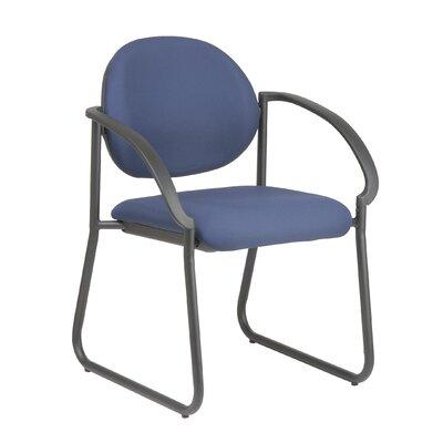Work Smart Sled Base Guest Chair Fabric: Interlink - Flint