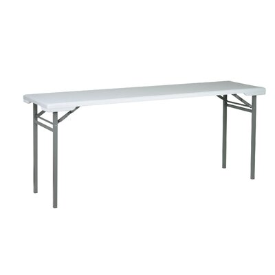 "Work Smart 70.5"" Rectangular Folding Table"