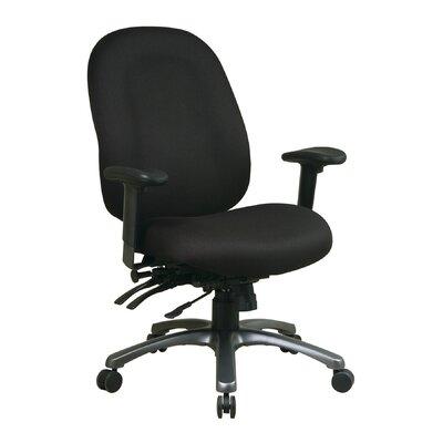 Pro-Line II Series High-Back Desk Chair Upholstery: Festival - Sangria