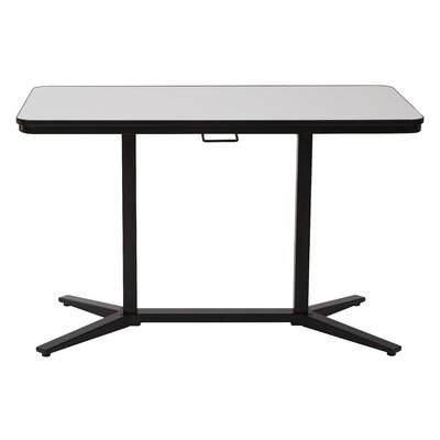Pro-Line II Standing Desk with Dry-Erase Top Finish: Black