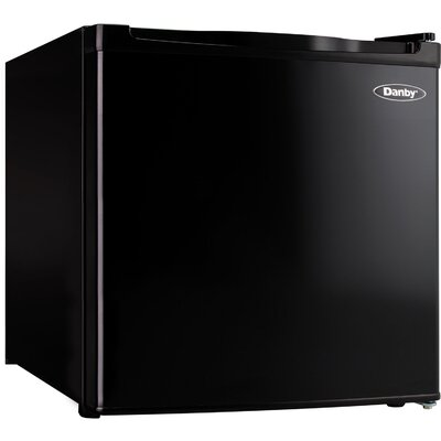 1.6 cu. ft. Compact Refrigerator with Freezer