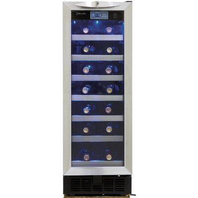 36 Bottle Silhouette Single Zone Built-In Wine Cooler