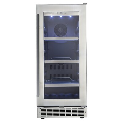 Silhouette 14.93-inch 3.1 cu. ft. Undercounter Beverage Center