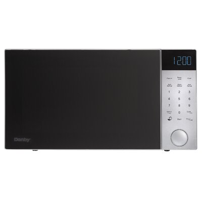 "Nouveau Wave 21"" 1.2 cu. ft. Countertop Microwave Finish: Silver"
