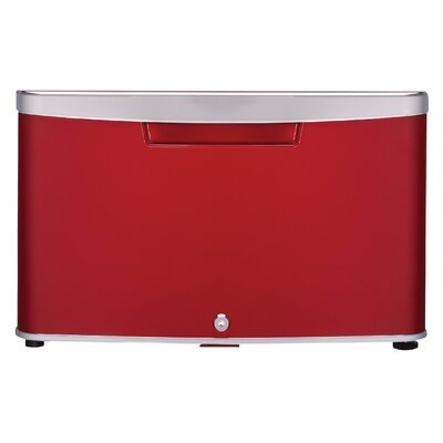 Universal Refrigerator Storage Drawer Color: Red