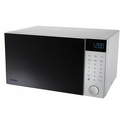 "Nouveau Wave 21"" 1.1 cu. ft. Countertop Microwave Finish: Silver"