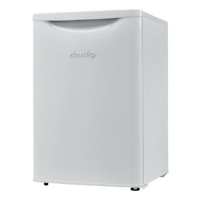 Contemporary Classic Essential 2.6 cu. ft. Compact/Mini Refrigerator Color: White