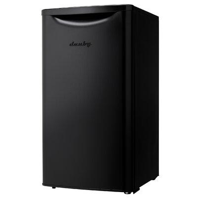 Contemporary Classic Essential 3.3 cu. ft. Compact/Mini Refrigerator Color: Black