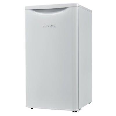 Contemporary Classic Essential 3.3 cu. ft. Compact/Mini Refrigerator Color: White