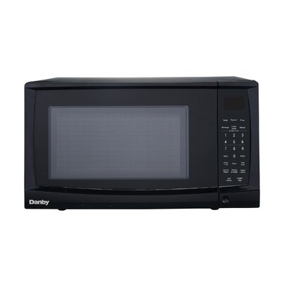 """22"""" 0.9 cu. Ft. Counter Top Microwave Finish: Black"""