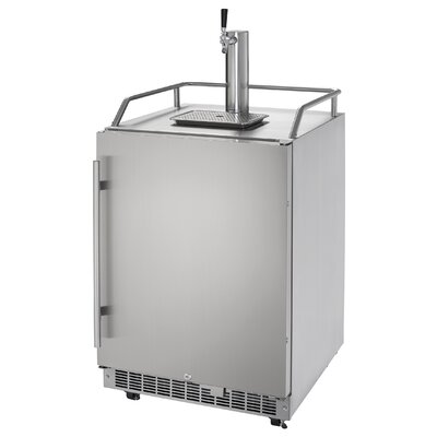 5.5 cu. ft. Silhouette Professional Single Tap Full Size Kegerator