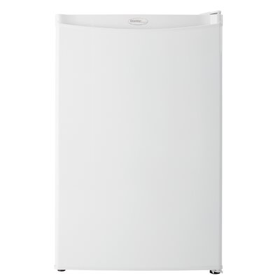 4.4 cu. ft. Compact Refrigerator Finish: White