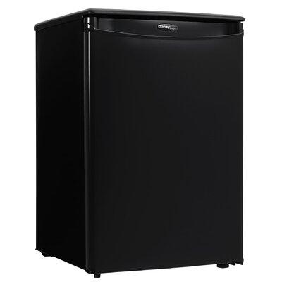 2.6 cu. ft. Compact Refrigerator Color: Black