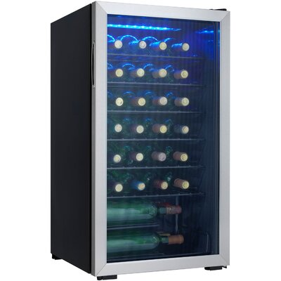 36 Bottle Single Zone Freestanding Wine Cooler