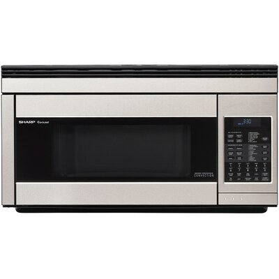 "30"" 1.1 cu.ft. Over-the-Range Microwave Color: Stainless Steel"