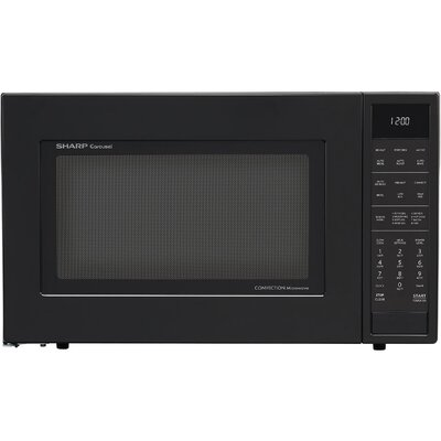 "25"" 1.5 cu.ft. Countertop Microwave Color: Black"
