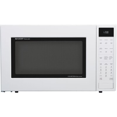 "25"" 1.5 cu.ft. Countertop Microwave Color: White"