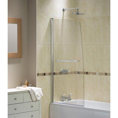 Aqualux AQUA 5 150cm x 80cm Bath Screen