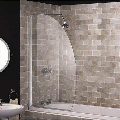 Aqualux 140cm x 80cm Bath Screen