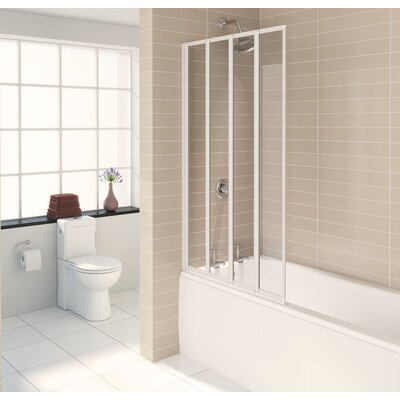 Aqualux 140cm Folding Bath Screen