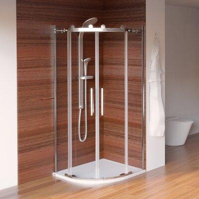 Aqualux Aqua 8 Roller Quadrant Shower Enclosure