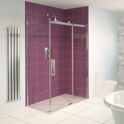 Aqualux Aqua 8 Roller Sliding Door Shower Enclosure