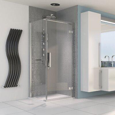 Aqualux Aqua 8 Hinge Pivot Door and Side Panel Shower Enclosure