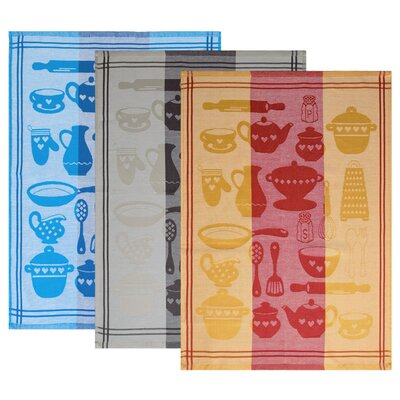 Dyckhoff 3-Piece Tea Towel Set