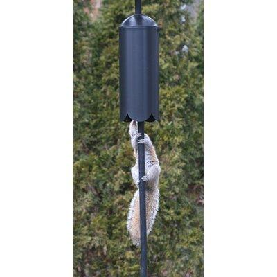 Squirrel Baffle Cylinder Pole Mount