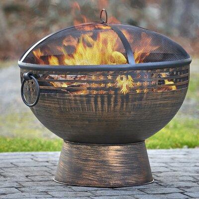 Steel Wood Burning Fire Pit