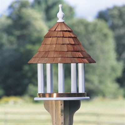 Decorative Tray Hopper Bird Feeder