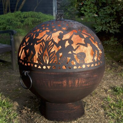 Full Moon Party Dome Steel Charcoal Fire Pit
