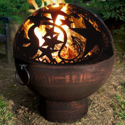 Orion Dome Steel Charcoal Fire Pit