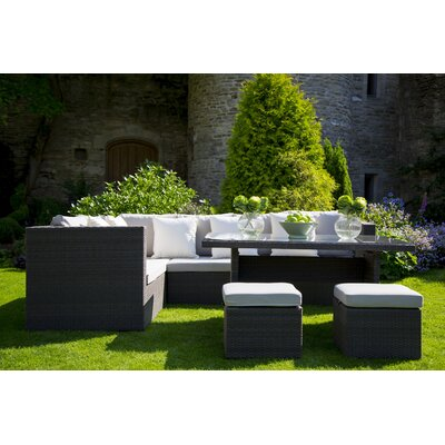 Bramblecrest Rio 8 Seater Sectional Sofa Set with Cushions