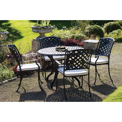 Bramblecrest Naples 4 Seater Dining Set with Cushions